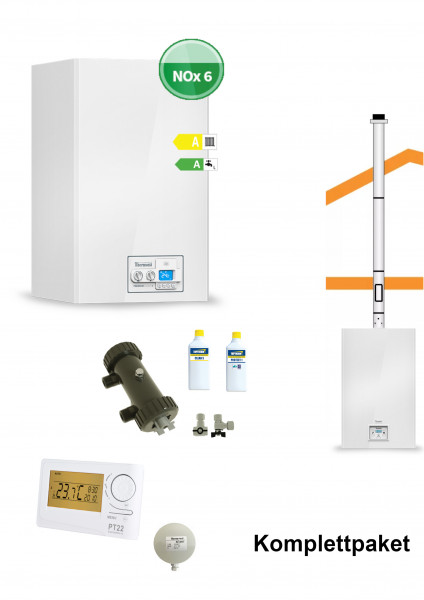 Therm 25 KDC - Komplettpaket - Brennwertkombitherme