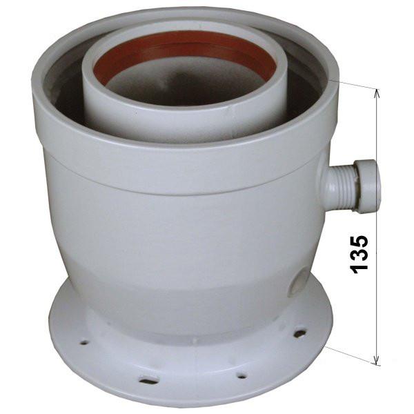 Abgassystem Turbothermen Ø 80/125 mm