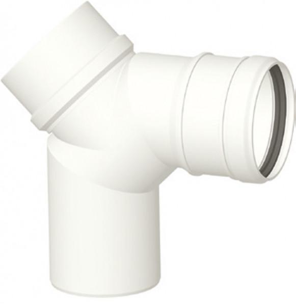 Kunststoff-Abgassystem - Bogen 90 ° mit Revisionsöffung DN 60