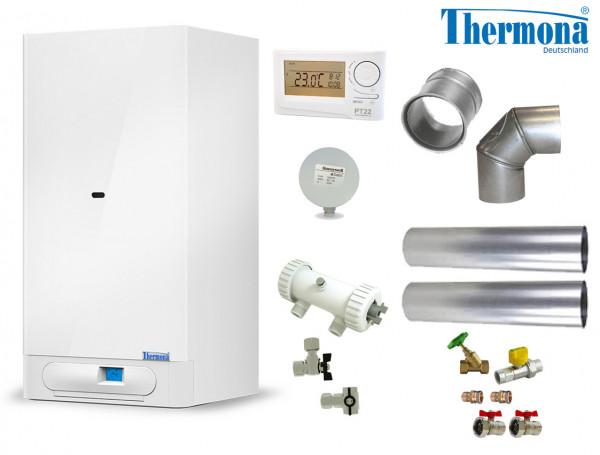 Sorglospaket Gas-Kombitherme Etagenheizung 8 - 20 kW