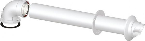 Wanddurchführung DN 60/100 PP/AL für Thermona® Brennwertabgassystem
