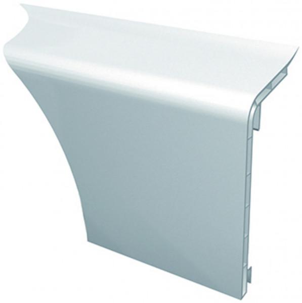 Farbe: weiß - HZ SLF 2000 Sockelleiste u. Formteile