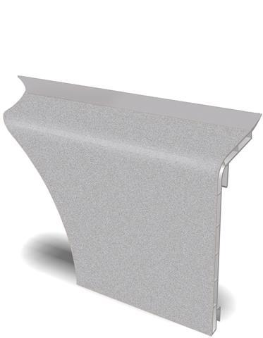 HZ BLF 2000 Blindleisten u. Formteile - Farbe: alu