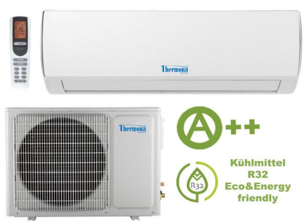Single-Split Klimagerät 2,6 kW mit Wi-Fi Funktion und Energieeffizienzklasse A++