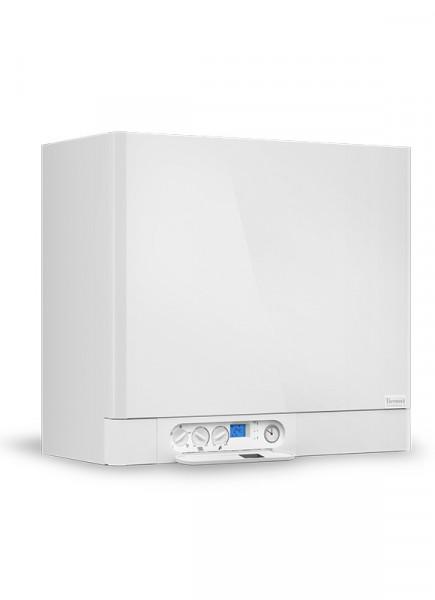 Brennwerttherme 17 kW Heiztherme mit integriertem 55 L Warmwasserspeicher THERMONA THERM 17 KDZ5.A