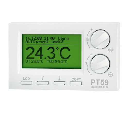 PT59 - Thermostat mit Opentherm-Kommunikation