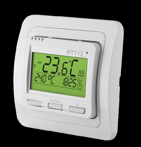 PT712-EI - Raumthermostat für Fußbodenheizung mit Außenfühler