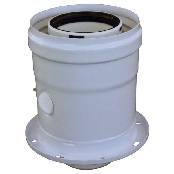 Geräteanschlussstück Brennwert PP/AL 60/100