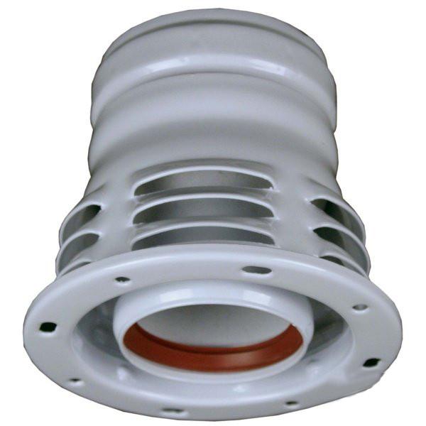 Abgassystem Turbothermen Ø 80 mm einwandig
