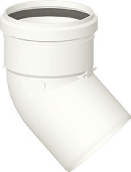 Kunststoff-Abgassystem - Bogen 90 ° DN 60