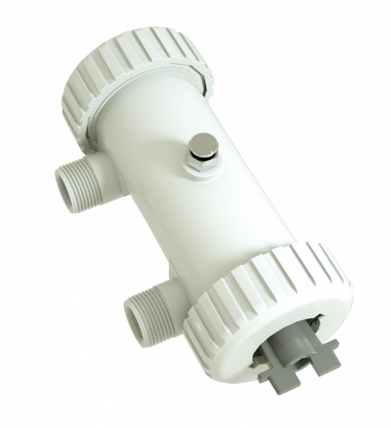 Magnetischer Filter und Schlammabscheider T-Box zero compact