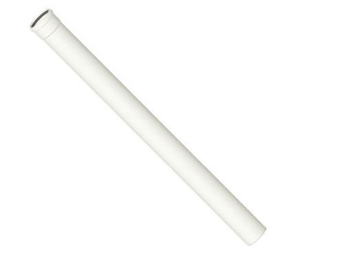 Kunststoff-Abgassystem Rohr 1000 mm, kürzbar, DN 60