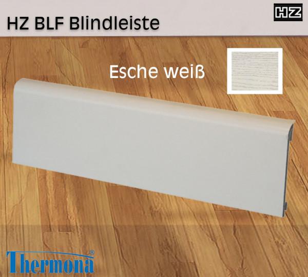 BLF 2m Blindleiste Esche weiß