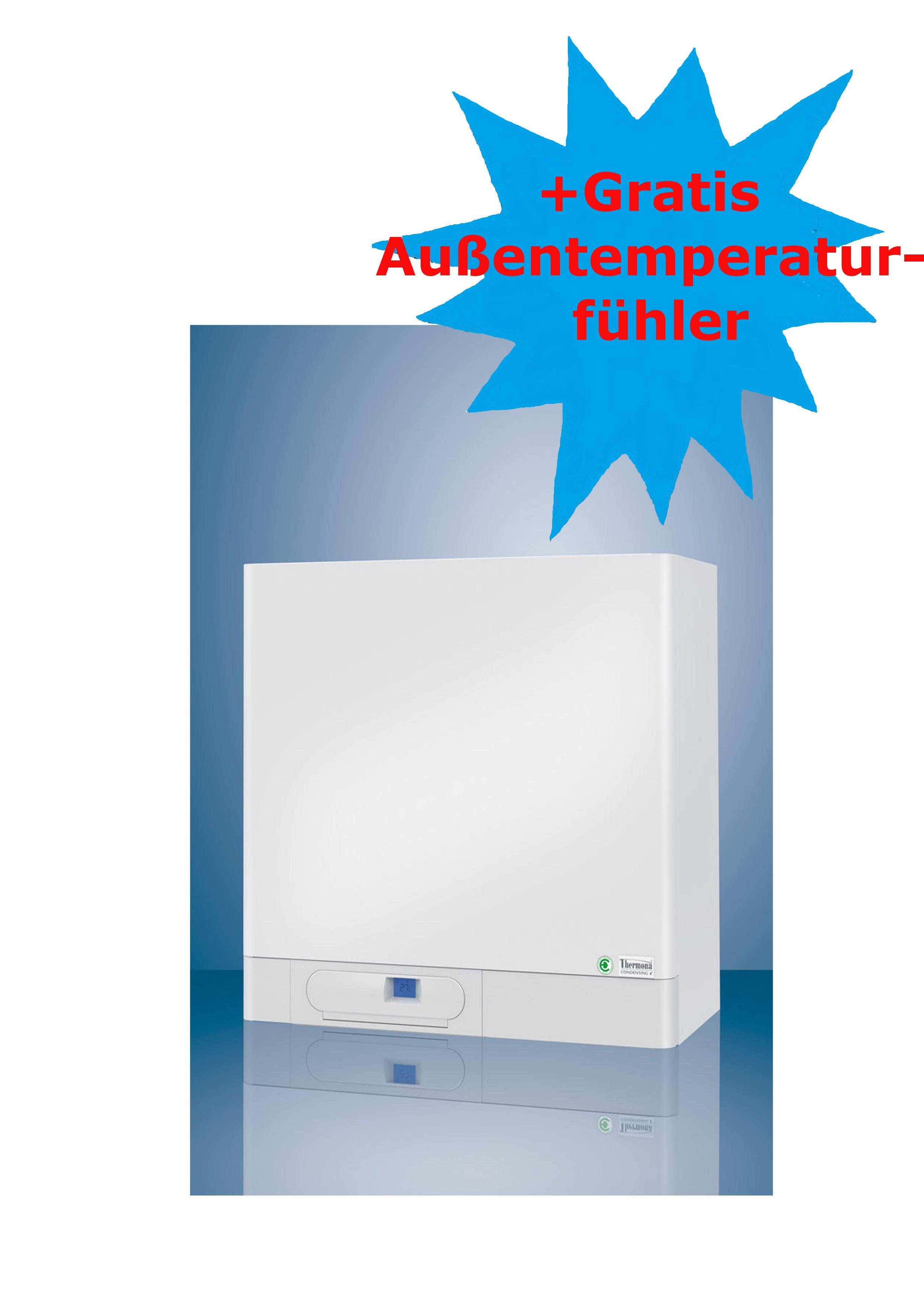 brennwerttherme mit integriertem warmwasserspeicher thermona therm 14 kdz5 a gasthermen online. Black Bedroom Furniture Sets. Home Design Ideas