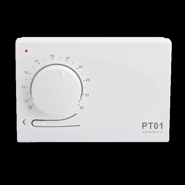 PT01 - Raumthermostat zur Heizungsregulation im Raum