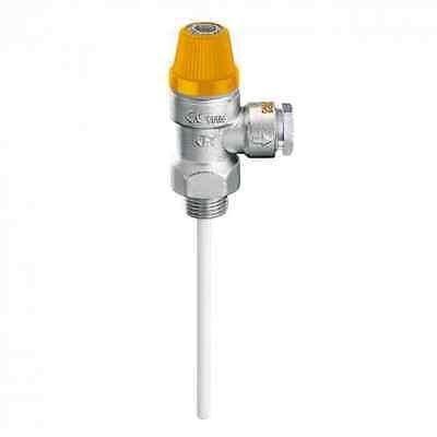 "Caleffi 1/2""x15mm 6bar Temperatur - Druck-Sicherheitsventil"