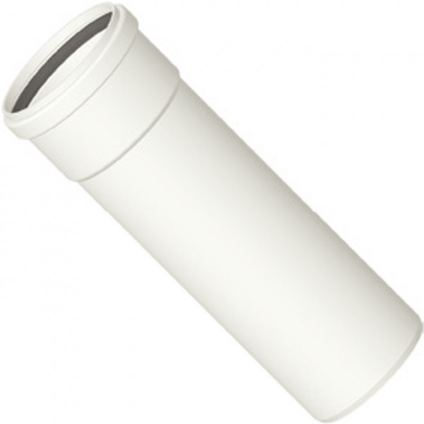 Kunststoff-Abgassystem Rohr 250 mm, kürzbar, DN 60