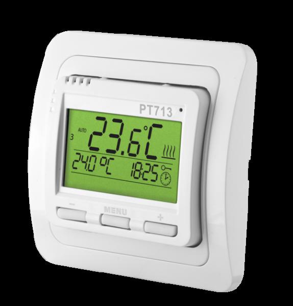 PT713-EI - Raumthermostat für Fußbodenheizung mit Außenfühler